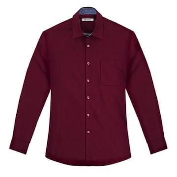 레디코 레디핏 데일리 와인 자주색 긴팔 셔츠 RFCA1105