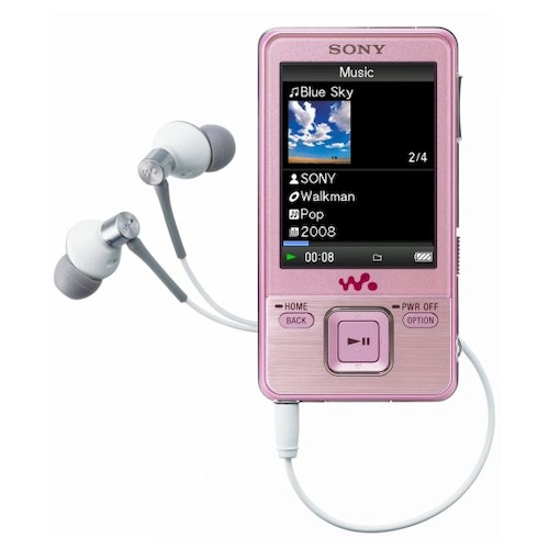 SONY Walkman NWZ-A720 시리즈 8GB (SONY NWZ-A728 MP3, 정품)_이미지