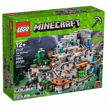 레고  마인크래프트 산속 동굴 (21137) (해외구매)
