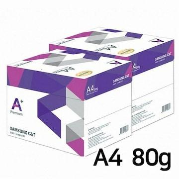 삼성물산 에이플러스 복사용지 A4 80g 500매(10개, 5000매)