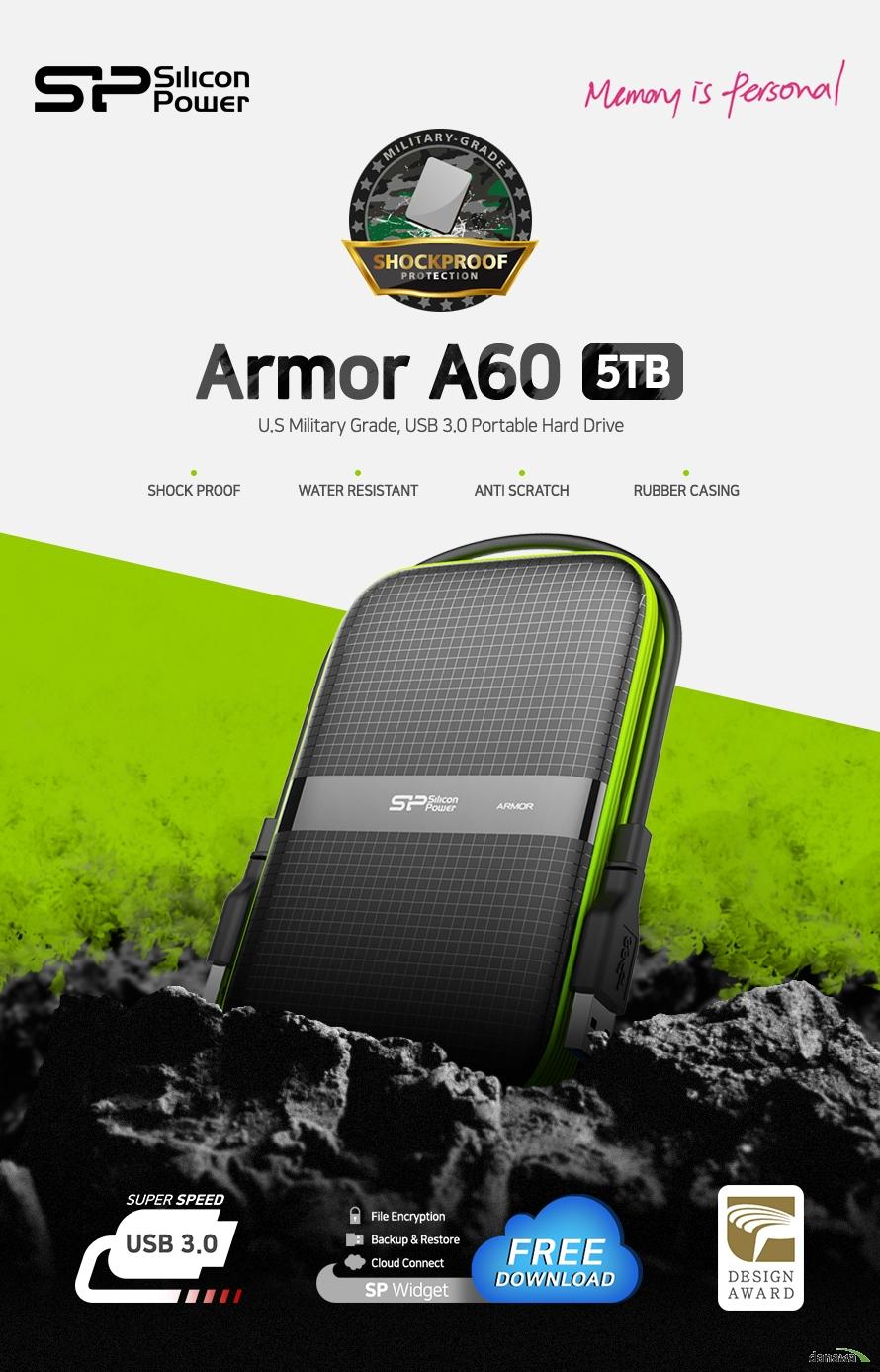 실리콘파워  Armor A60(5TB)