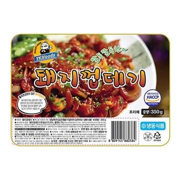 임꺽정푸드시스템 임꺽정 돼지껍데기 350g (26개)