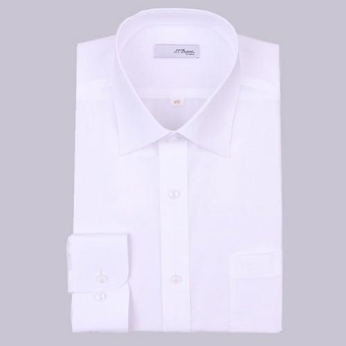 에스티듀퐁  스노우 코튼 70수 비즈니스맨 썸머 화이트 셔츠 SD8SM11LS105WH_이미지