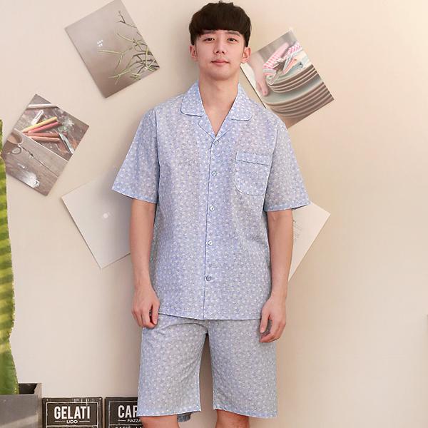 라임 원더풀라이프 리플 면 여름 잠옷 상하세트 WD1884