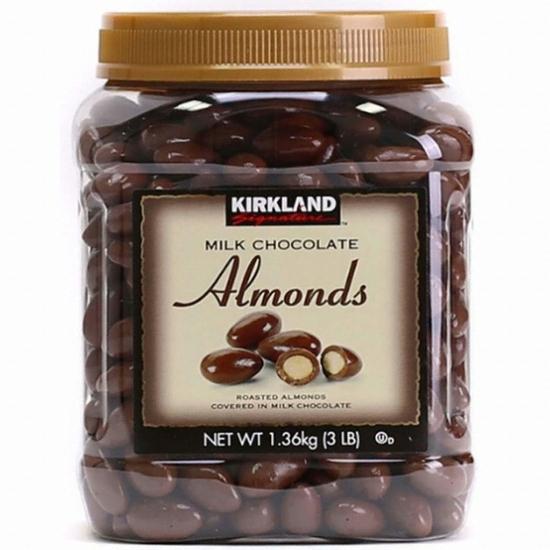 코스트코 커클랜드 밀크 초콜릿 아몬드 1.36kg(1개)