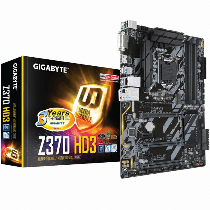 GIGABYTE Z370 HD3 듀러블에디션 피씨디렉트