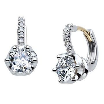 트리샤 18K 눈의여왕 3부 다이아몬드 귀걸이