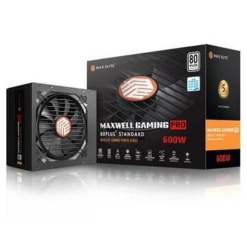 맥스엘리트 MAXWELL GAMING PRO 600W 80PLUS STANDARD 플랫_이미지