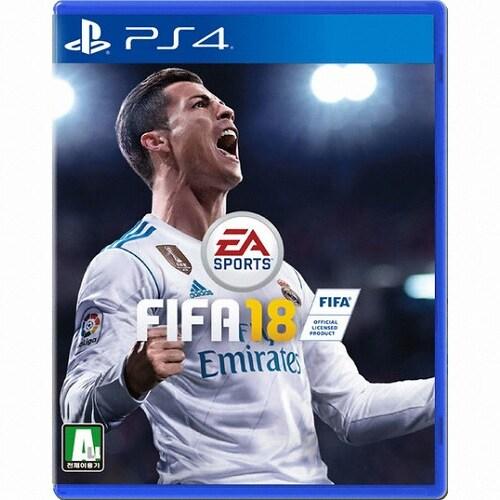피파 18 (FIFA 18) PS4 영문판,스탠다드 에디션_이미지