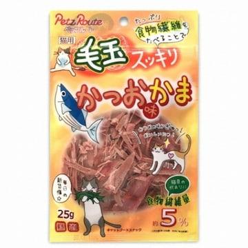 도기맨 펫츠루트 가다랑어맛 어묵슬라이스 25g(1개)