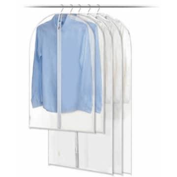 에코벨 옷커버 투명 롱패딩형 (5개)_이미지