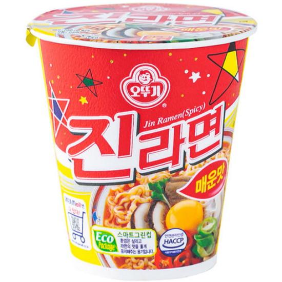 오뚜기 진라면 매운맛 컵 65g(1개)