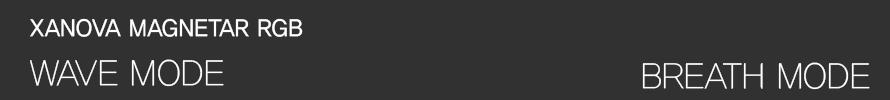 갤럭시  XANOVA MAGNETAR RGB 기계식 키보드(갈축)
