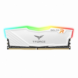 TeamGroup T-Force DDR4-2666 CL16 Delta RGB 화이트 서린 (8GB)_이미지