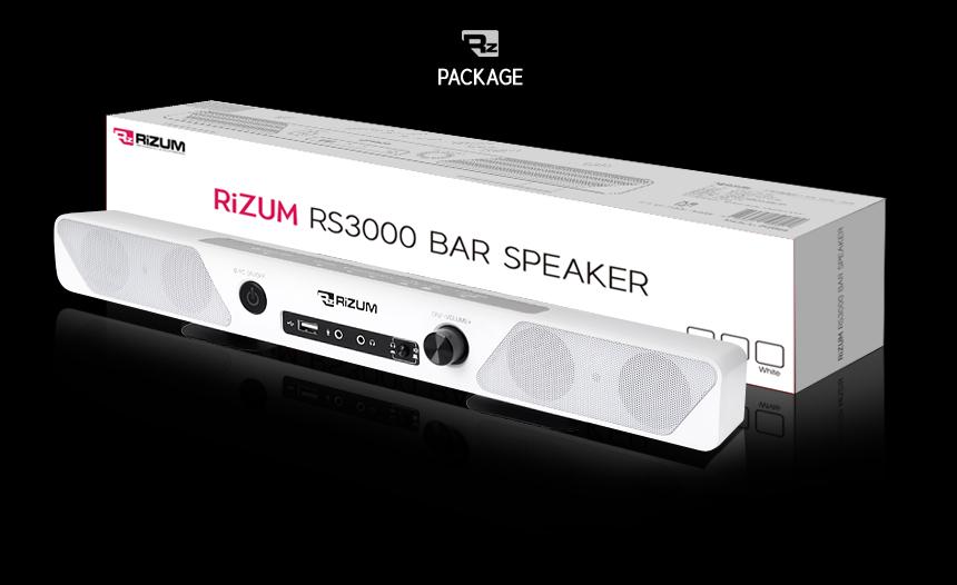 RIZUM  RS3000 사운드바