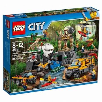 시티 정글 탐험기지 (60161)
