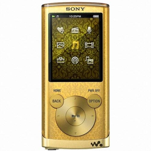 SONY Walkman NWZ-E450 Series NWZ-E453 골드 4GB_이미지