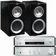 야마하 A-670 + CD-NT670 + KEF R300_이미지