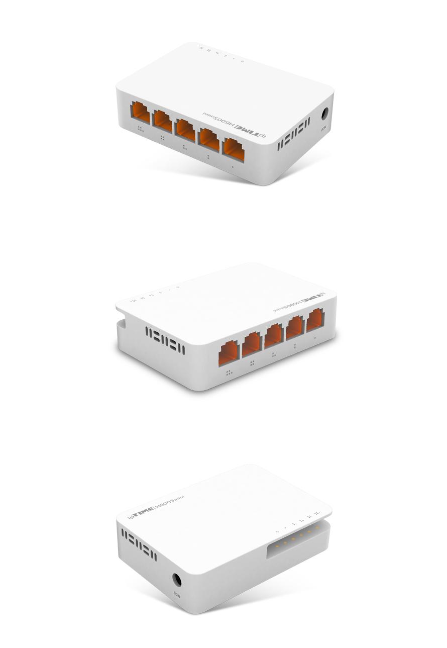 EFM ipTIME H6005mini 스위치허브
