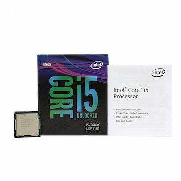 인텔 코어i5-9세대 9600K (커피레이크-R)(정품)