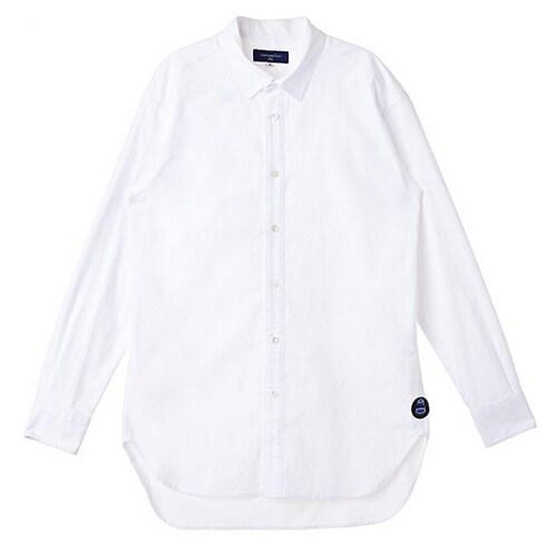 코오롱인더스트리 커스텀멜로우 white casual long shirts CQSAX16522WHX_이미지