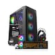 COOLMAX 가성비 NO.3 RGB + W240 aRGB + X40 + HS-510 (올블랙 패키지)_이미지