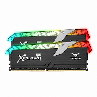 TeamGroup T-Force DDR4-4000 CL18 XCALIBUR RGB 패키지 서린 (16GB(8Gx2))_이미지