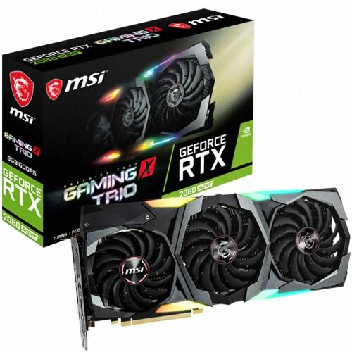 MSI 지포스 RTX 2080 SUPER 게이밍 X 트리오 D6 8GB 트라이프로져