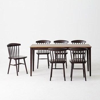 한샘  로하콤비 미뉴엣의자 식탁세트 1600 (의자6개)_이미지