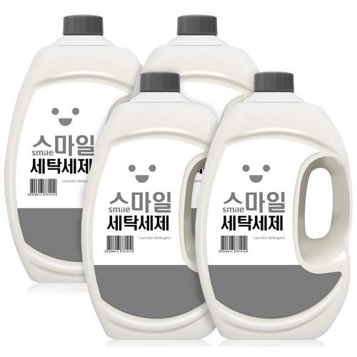 스마일 세탁세제 2.5L(4개)