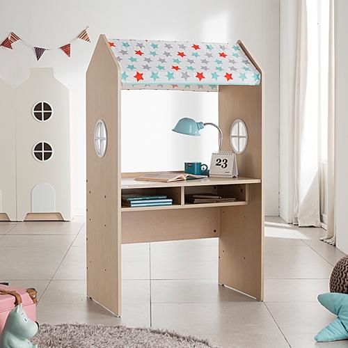 안데르센 가구엠디 루피 3단 높이조절 책상+유아동 의자 (패브릭 ...