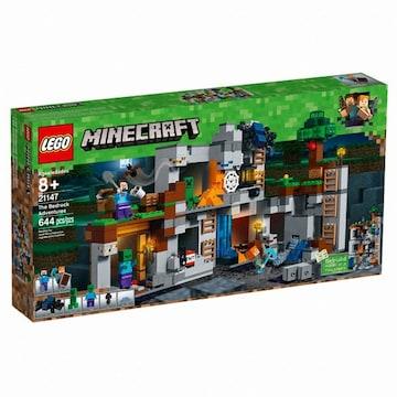 레고 마인크래프트 베드락 모험 (21147)(정품)