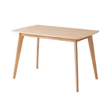 한샘  포레 원목 식탁 1200 (의자별도)