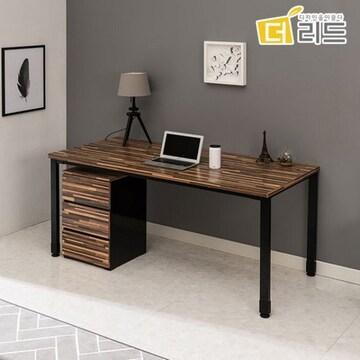 에코그린 더리드 프린지 LPM 책상+3단서랍장 세트 (160x75cm)
