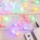 인크리코 LED 18mm 충전식 스마트 컬러 앵두전구 100구_이미지