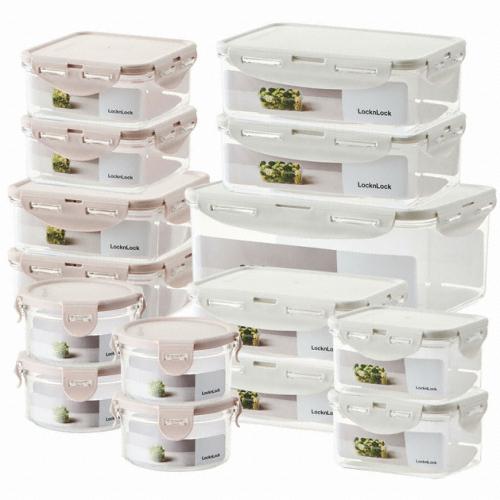 락앤락 비스프리 스테커블 냉장고 정리 15개 세트