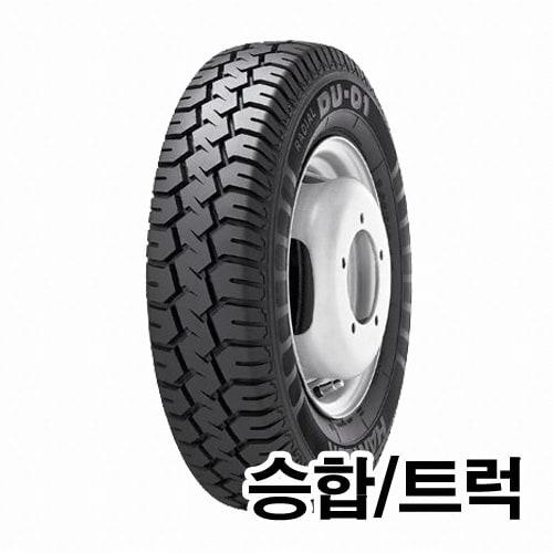 한국타이어 래디알 DU01 670R14 8PR (장착비별도)_이미지