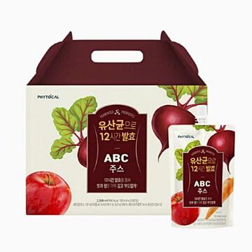 웰팜 파이토컬 유산균으로 12시간 발효 ABC주스 100ml