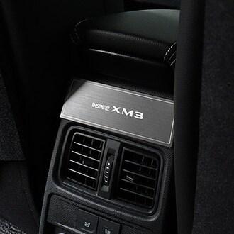 브릭스 르노삼성 XM3 알루미늄 2열 송풍구 몰딩_이미지