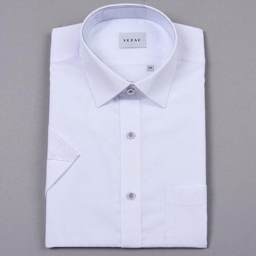 패션그룹형지 예작 모달 도비 일반핏 반소매 셔츠 YJ8MBR209WH_이미지