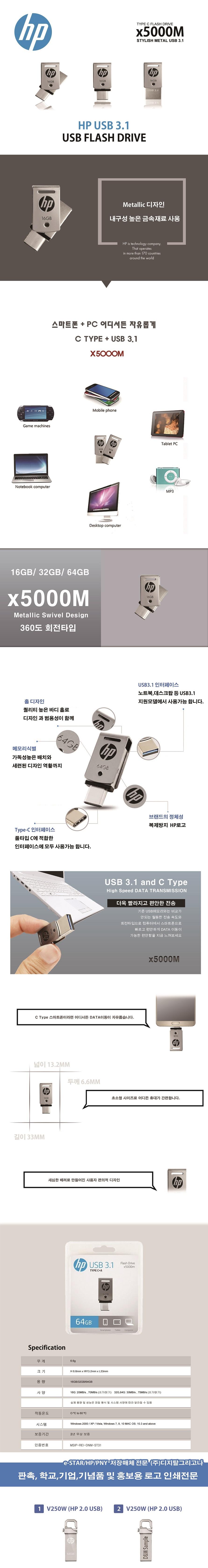 HP  X5000M(16GB)