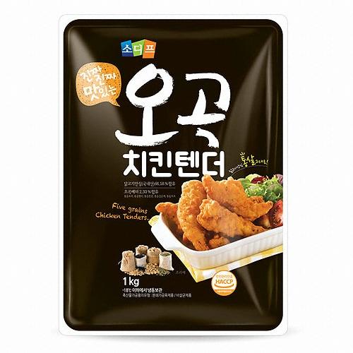 소디프B&F 오곡 치킨텐더 1kg (1개)_이미지