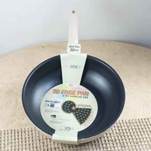 매직쉐프 3D 엣지 다이아몬드코팅 궁중팬 (30cm)_이미지