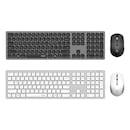 COS400 펜타그래프 무선 저소음 키보드 마우스 세트