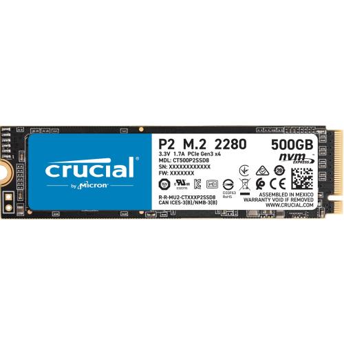 마이크론 Crucial P2 M.2 NVMe 대원CTS(500GB)