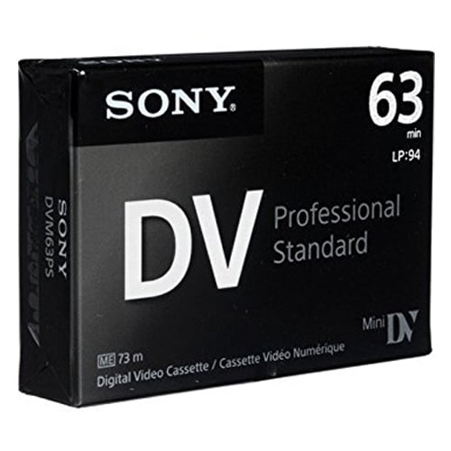 SONY DVM63PS 6mm (50개)_이미지