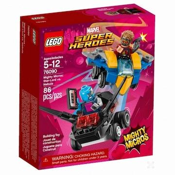 레고 마블 슈퍼히어로 스타 로드 대 네뷸라 (76090) (정품)