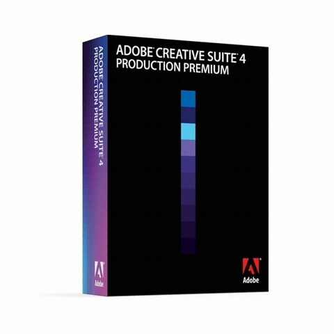 Adobe  Creative Suite 4 Production Premium (상업용 윈도우 한글)_이미지