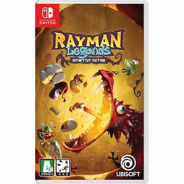 UBIsoft  레이맨 레전드 데피니티브 에디션 (Rayman Legends Definitive Edition) SWITCH (영문판,일반판)