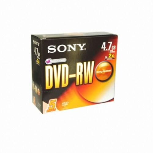 SONY DVD-RW 4.7GB 2x 쥬얼 (20장)_이미지